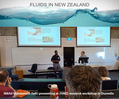 Nik presenting at FINZ