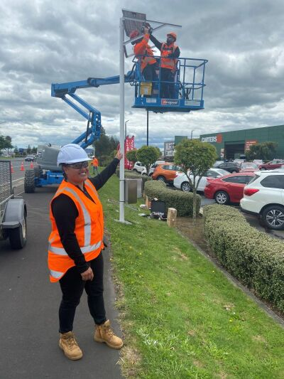 New Smart Camera for Te Rapa Road