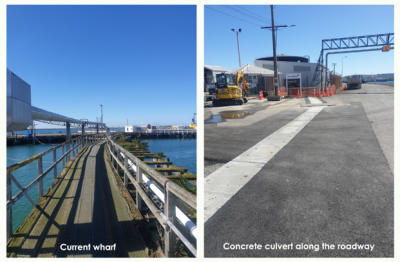 Project highlight - Bluff to construct a new Bitumen wharf pipeline to a refurbished wharf